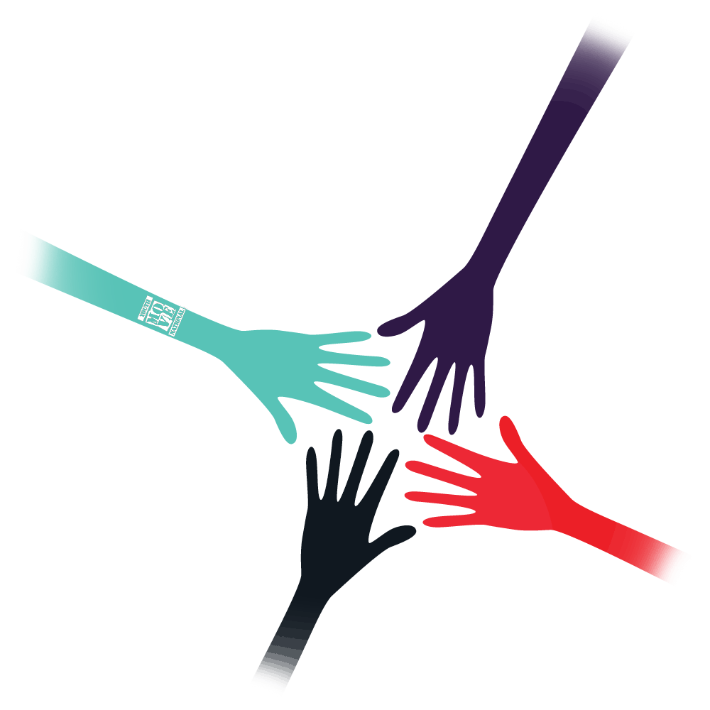 Hands coming together YMN Logo