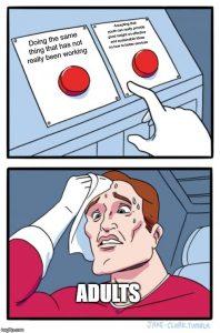 Adulting Meme