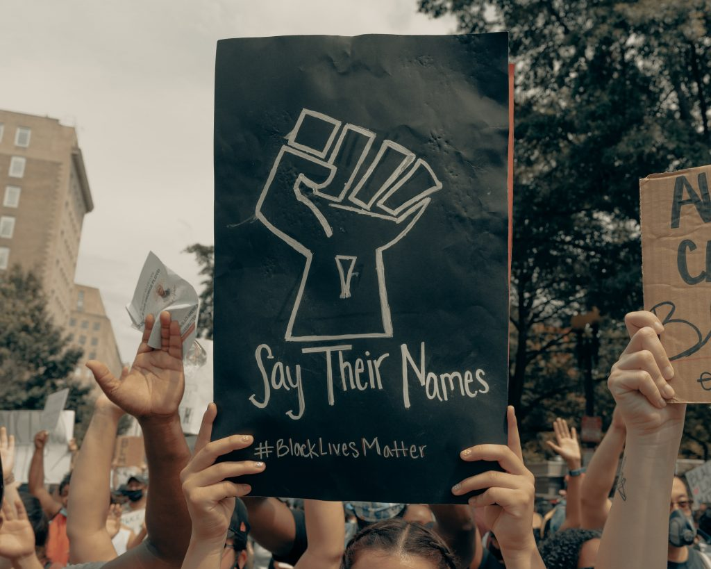 Say Their Name Protest Poster